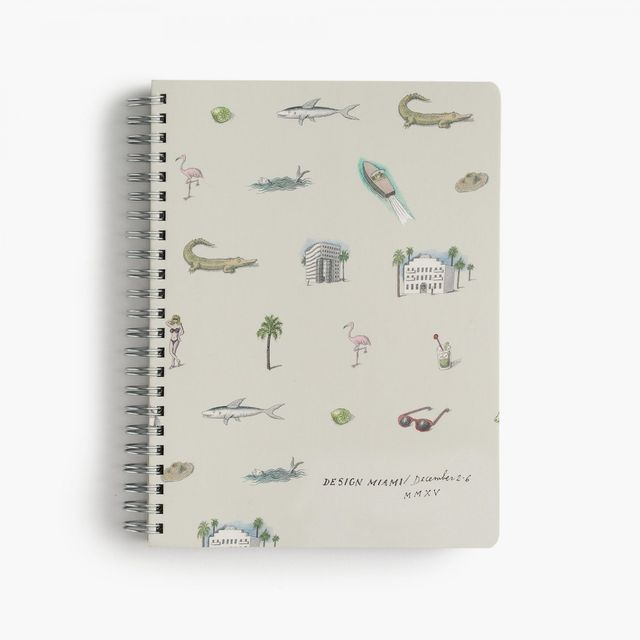 J.Crew x Pierre Le-Tan for Design Miami Notebook