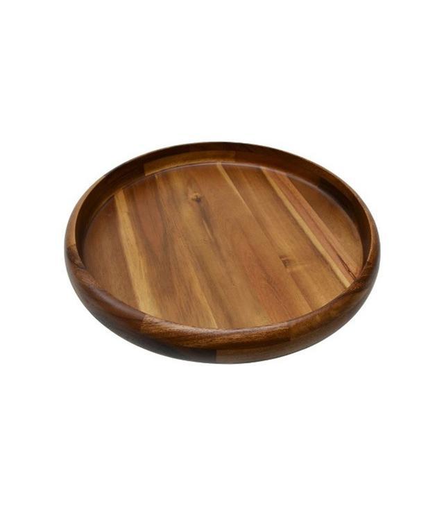 Target Large Round Natural Wood Platter