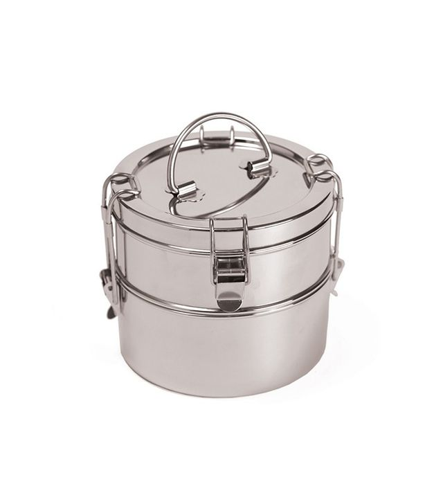 To-Go Ware Two Tier Stainless Steel Food Carrier