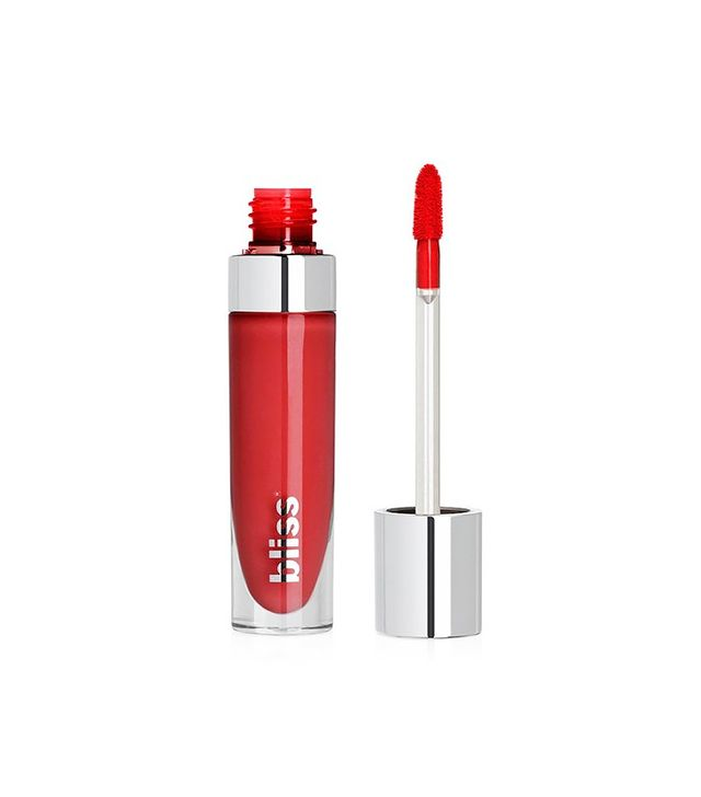 Bliss's Bold Over Long Wear Liquefied Lipstick in Cherry on Top