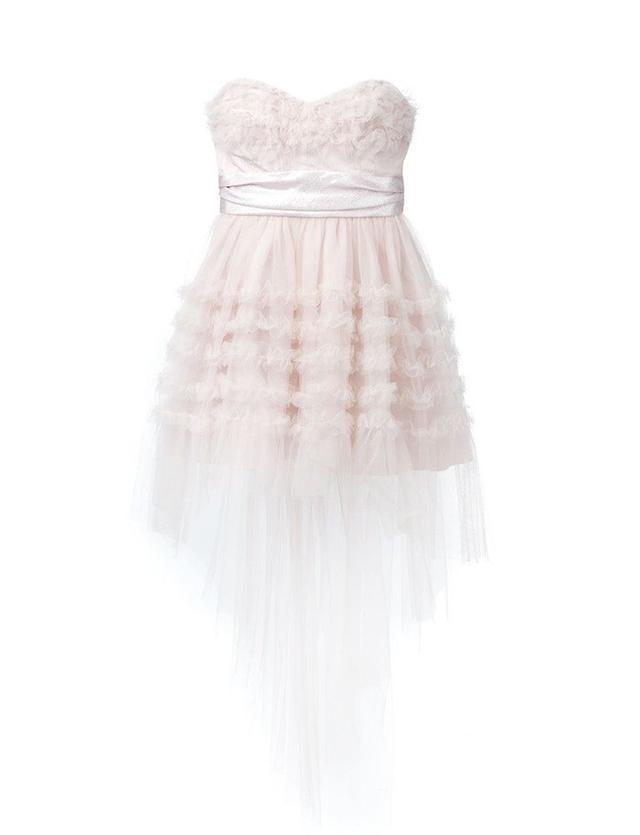 Saint Laurent Lulu Ruffled Dress