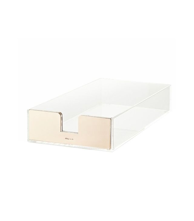Kate Spade New York Acrylic Letter Tray
