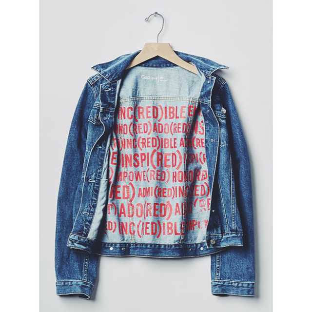 Gap (Red) Denim Jacket