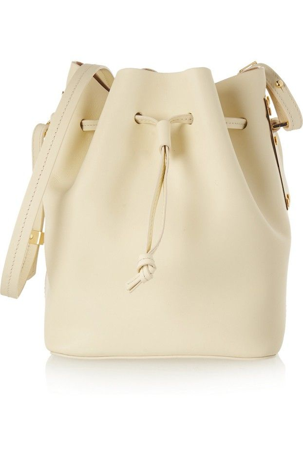 Sophie Hulme Nelson Matte-Leather Bucket Bag