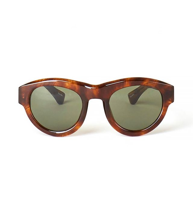 Dries Van Noten Brown Sunglasses
