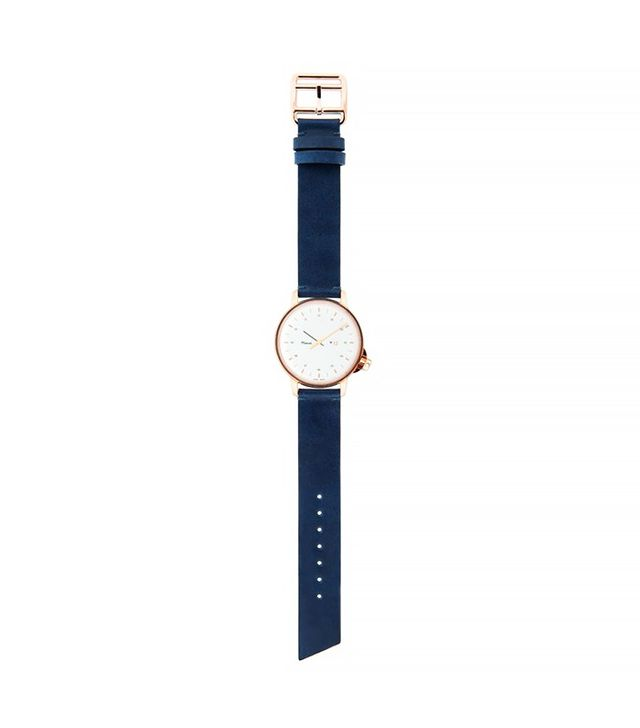 Miansai Rose Gold Pleated Watch