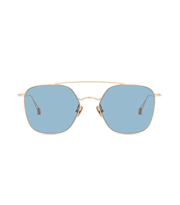 Concorde Sunglasses in Brushed Rose Gold