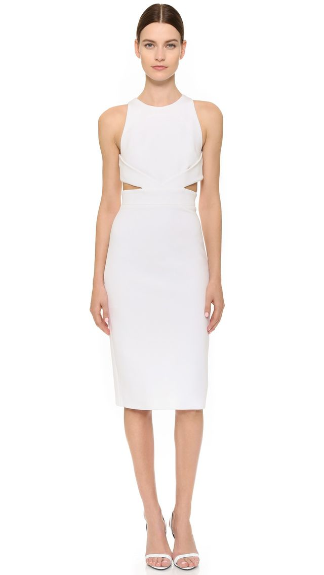 Cushnie et Ochs Back Cutout Dress
