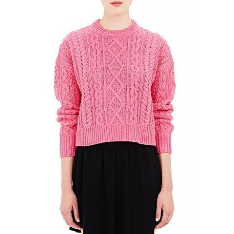 Crop Newlyn Sweater