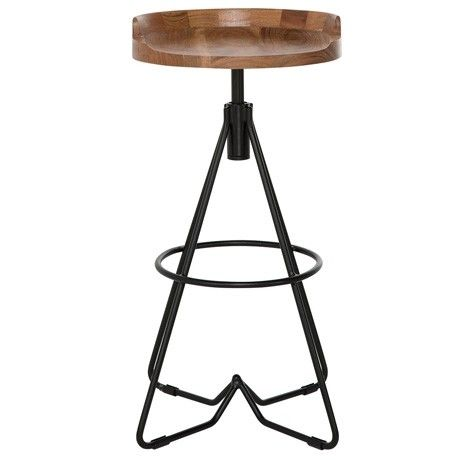 Freedom Bronx Bar Stool 75cm in Natural