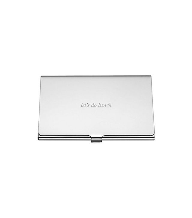 Kate Spade New York 'Let's Do Lunch' Business Card Holder