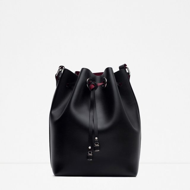 Zara Bucket Bag with Details