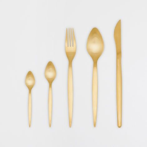 Zara Home Gold Cutlery (sold individually)
