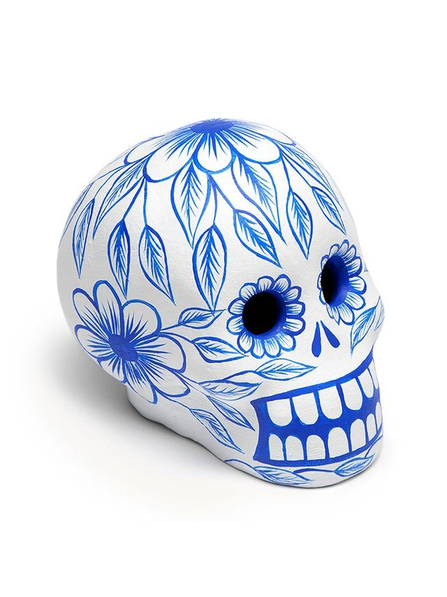 St. Frank Mexico Day of the Dead Skull