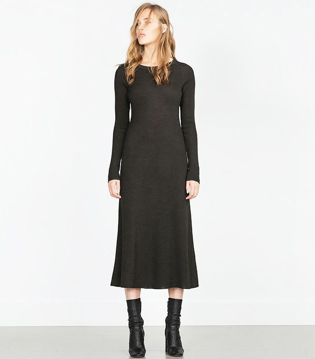 Zara Tailored Knit Dress