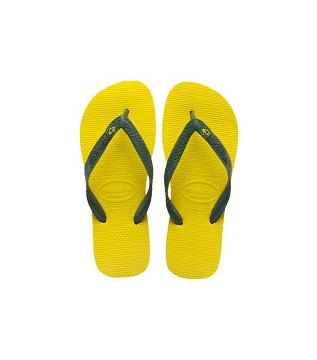 Havaianas Citrus Yellow Flip-Flops