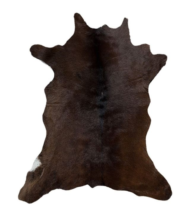 Natural Mini Cowhide Handmade Rug