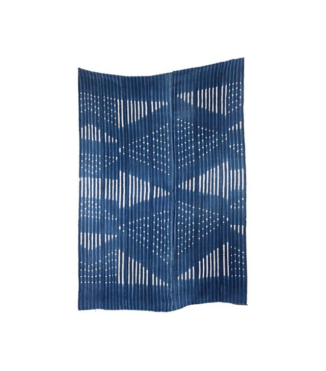 Vintage West African Indigo Textile