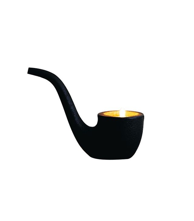 Samuji Cast Iron Pipe Candle Holder