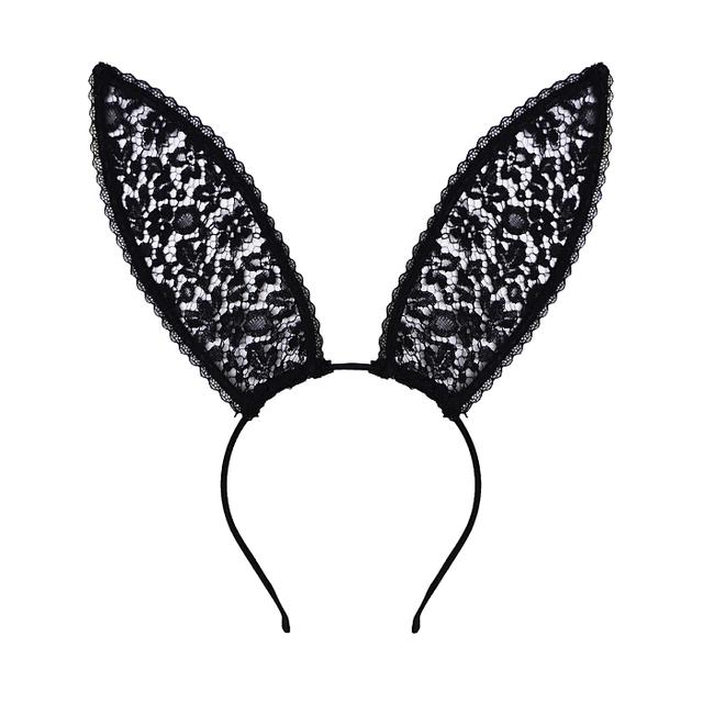 Fleur du Mal Silk & Lace Bunny Ears
