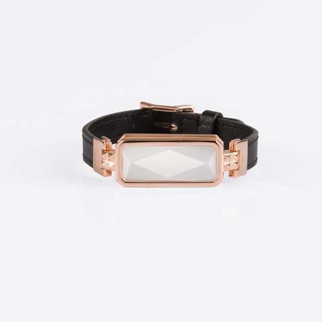 Altruis Rose Gold and White Smart Jewelry Bracelet