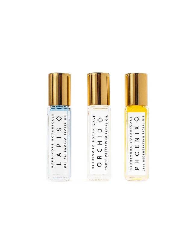 Herbivore Botanicals Mini Facial Oil Set