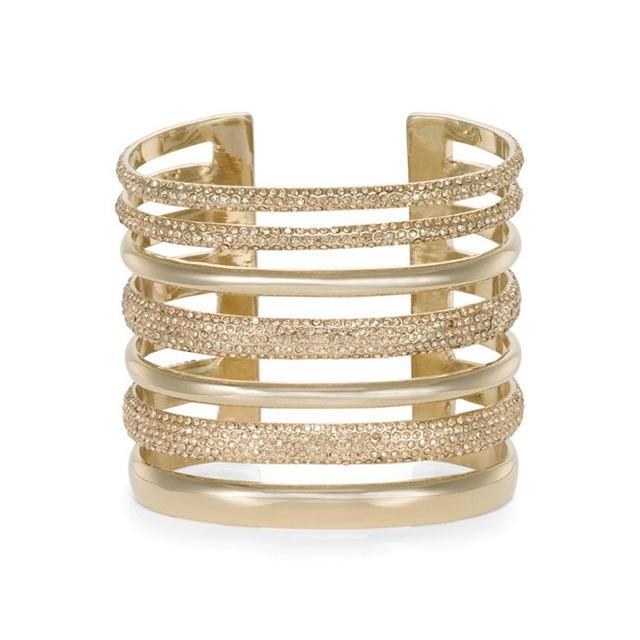 St. John Swarovski Crystal Cuff Bracelet