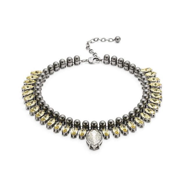 St. John Pearl & Swarovski Crystal Necklace