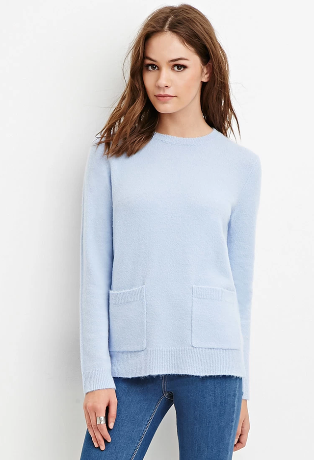 Forever 21 Boxy Pocket Sweater