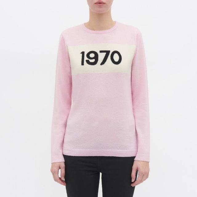 Bella Freud Cashmere 1970 Jumper in Pink