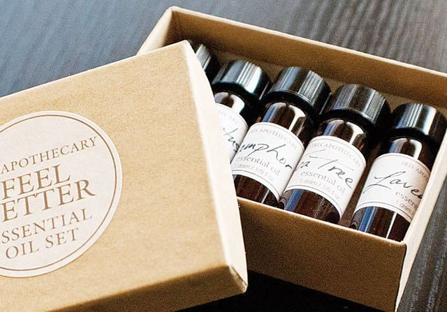 Iris Apothecary Feel Better Essential Oil Set