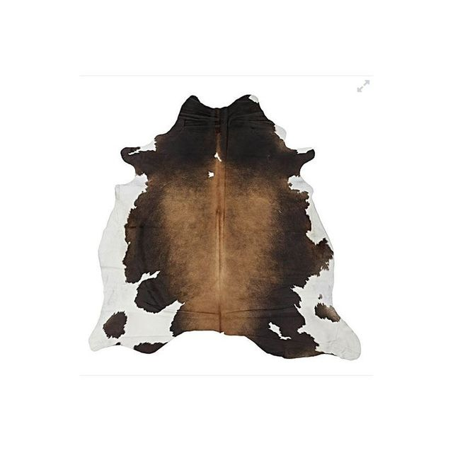 NSW Leather Co Natural Cowhide Rug, Autumn Sunrise