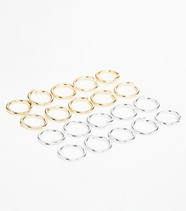 ASOS Pack of 20 Adjustable Hair Rings