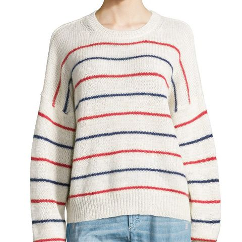 Gatland Striped Alpaca-Blend Sweater