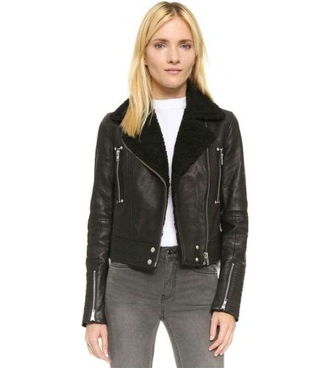 Paige Denim Ronney Shearling Jacket