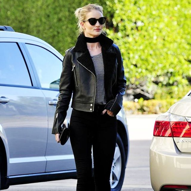 Rosie Huntington-Whiteley Inspires Our Weekend Outfit