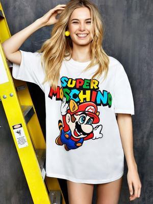 Bridget Malcolm Stars in This New Nostalgic Moschino Campaign