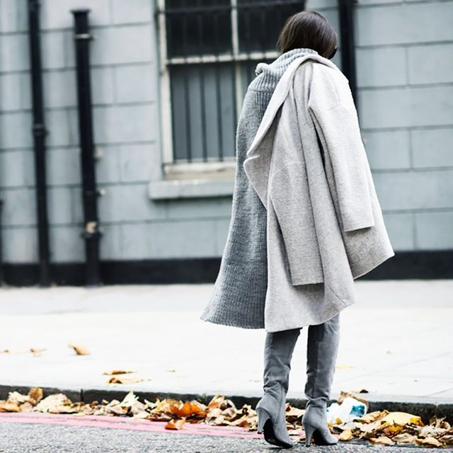 A Simple Gray Look Under $50
