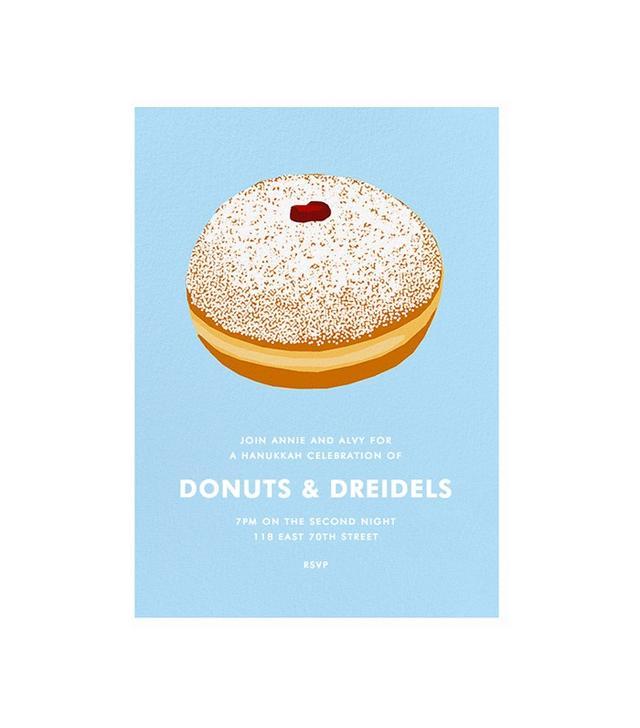 Hannah Berman for Paperless Post Jelly Donut