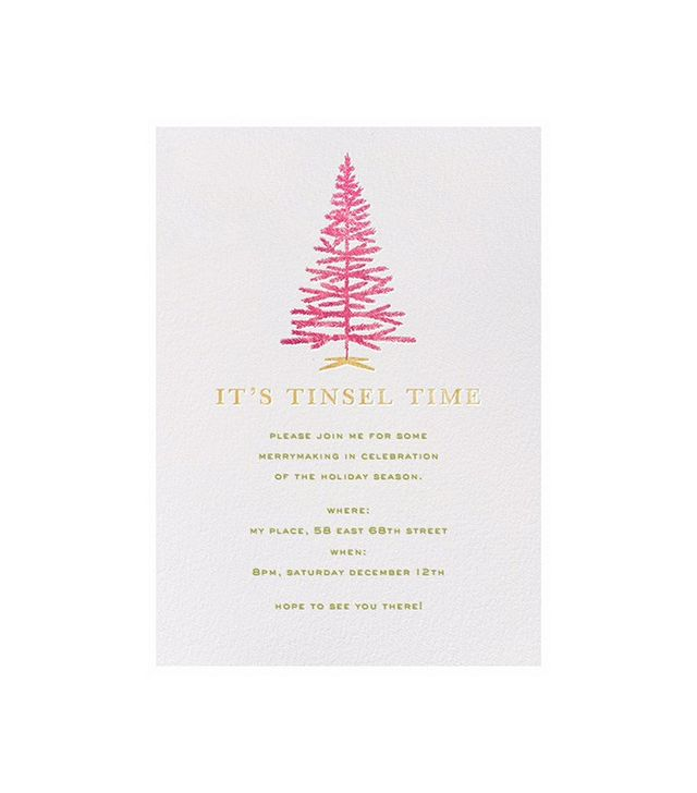 Kate Spade for Paperless Post Tinsel Time