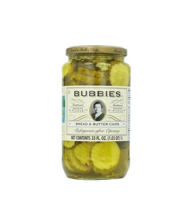 Bubbies Pickles, Bread & Butter, 33 oz