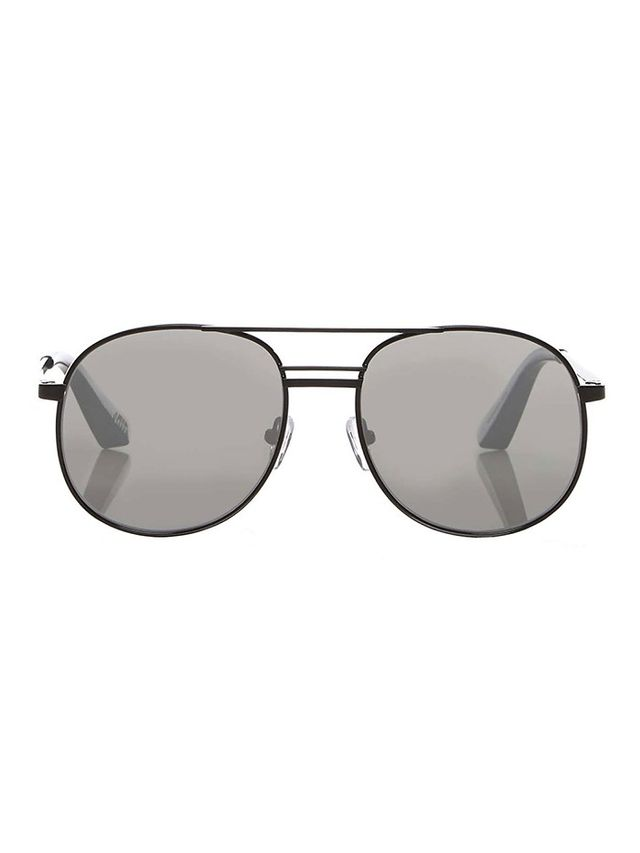 Elizabeth and James Watts Mirror Aviator Sunglasses