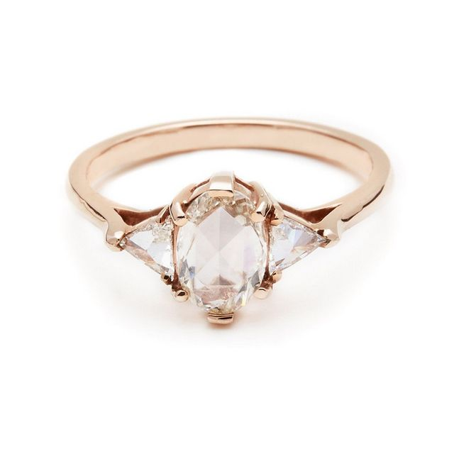 Anna Sheffield Oval Bea Ring