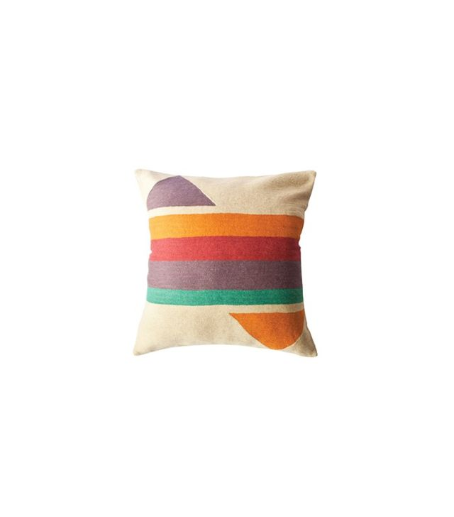 Leah Singh Bar Technicolor Pillow