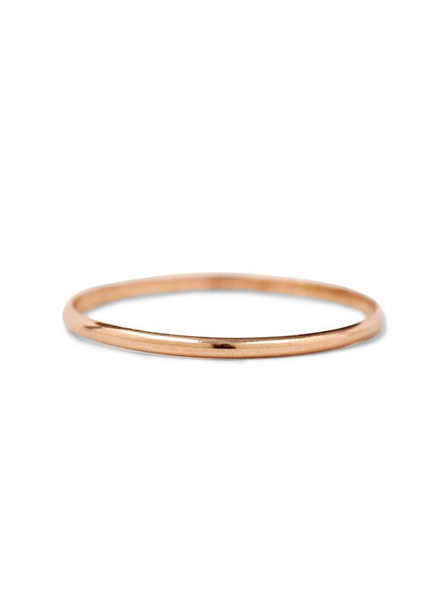 delicate gold band