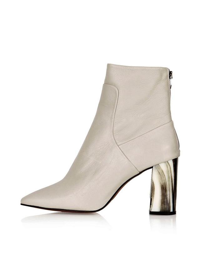 Topshop Muse Bone Heel Boots
