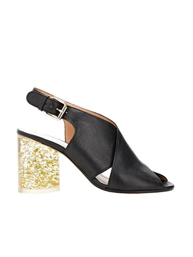 Maison Margiela Cylindrical-Heel Slingback Sandals