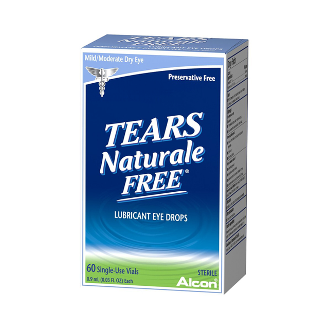 Tears Naturale Free Lubricating Eye Drops 60-Pk.