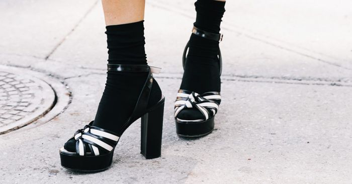 How to Wear Socks With Open-Toe Shoes