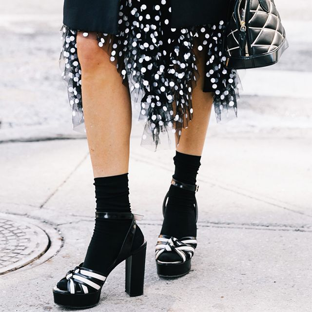 The Right Way to Wear Socks With Open-Toe Shoes